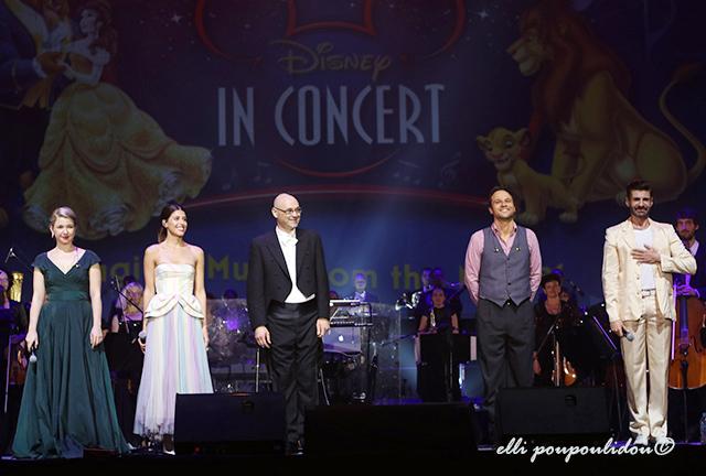 Μαγικές μελωδίες και υπέροχα τραγούδια στο Disney in Concert