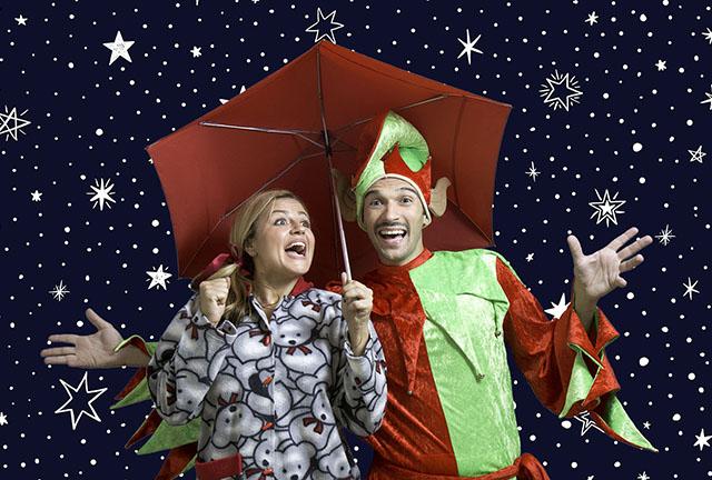 Παιδικό ταξίδι «Η μαγική ομπρέλα των Χριστουγέννων»