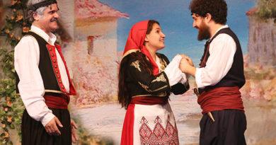 Μύρισε Κρήτη στο θέατρο Μπρόντγουαιη