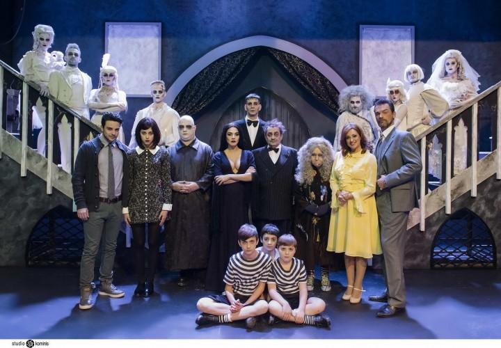 Ολοκληρώθηκαν οι παραστάσεις! Βέμπο «Οικογένεια Addams»
