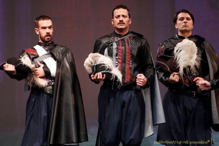 Είδαμε… τους «Οι τρεις σωματοφύλακες» στο θέατρο Ακροπόλ