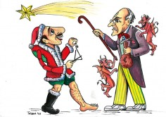 Ολοκληρώθηκαν οι παραστάσεις! Ελυζέ «Ο Καραγκιόζης Άγιος Βασίλης και το Πνεύμα των Χριστουγέννων»